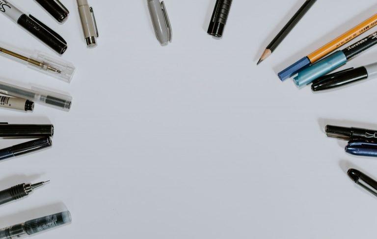 Tipuri de instrumente de scris