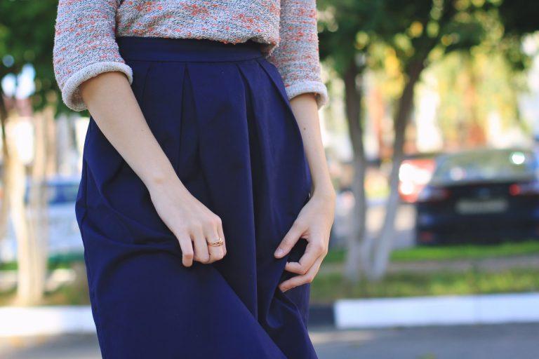 tipuri de pliseuri pentru fuste și pantaloni